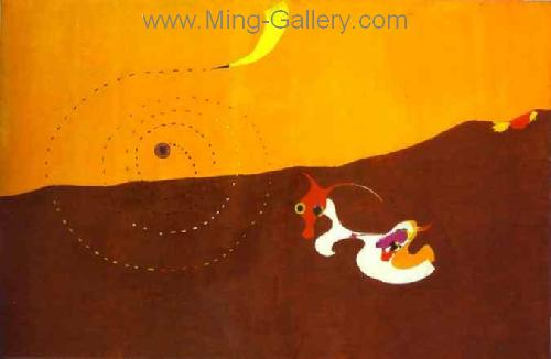 MIR0039 - Miro Art Reproduction Painting