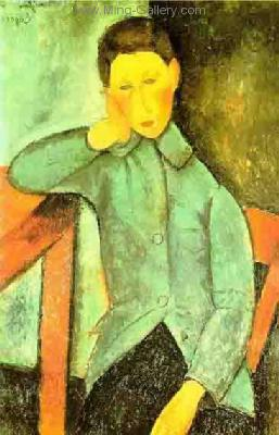 MOD0001 - Modigliani Copy Painting