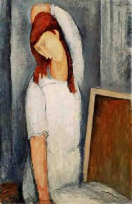 MOD0002 - Modigliani Copy Painting
