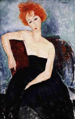 MOD0004 - Modigliani Copy Painting