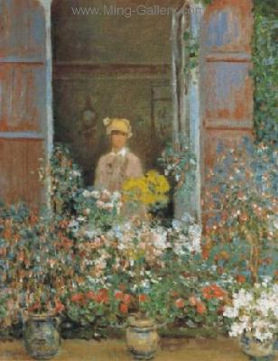 MON0001 - Monet Impressionist Art Painting