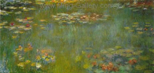 MON0004 - Monet Impressionist Art Painting