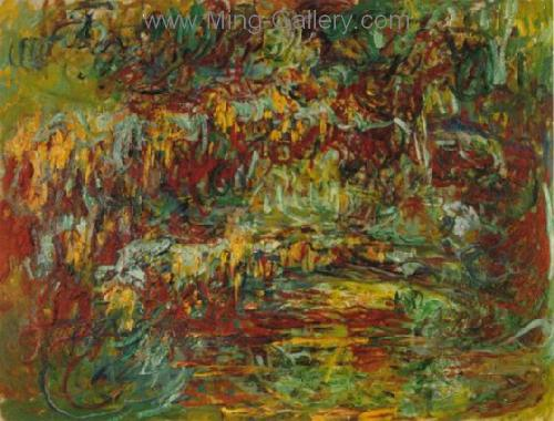 MON0007 - Monet Impressionist Art Painting