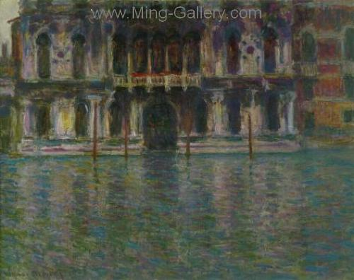 MON0015 - Monet Impressionist Art Painting