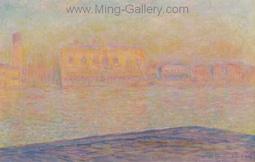 MON0017 - Monet Impressionist Art Painting