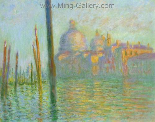 MON0018 - Monet Impressionist Art Painting