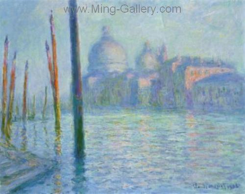 MON0019 - Monet Impressionist Art Painting