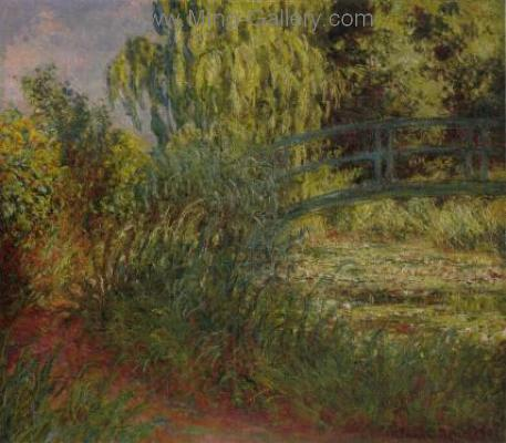 MON0024 - Monet Impressionist Art Painting