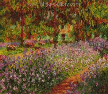 MON0028 - Monet Impressionist Art Painting