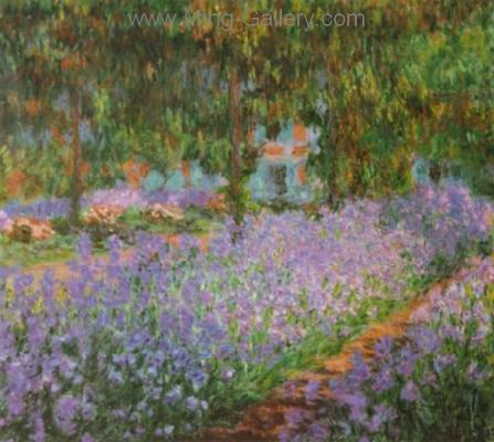 MON0029 - Monet Impressionist Art Painting