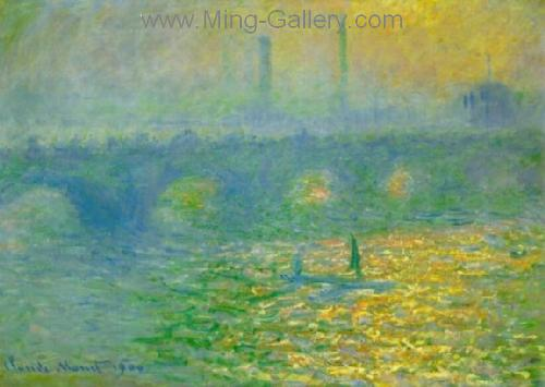 MON0033 - Monet Impressionist Art Painting