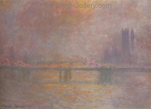 MON0034 - Monet Impressionist Art Painting