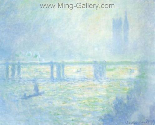 MON0036 - Monet Impressionist Art Painting