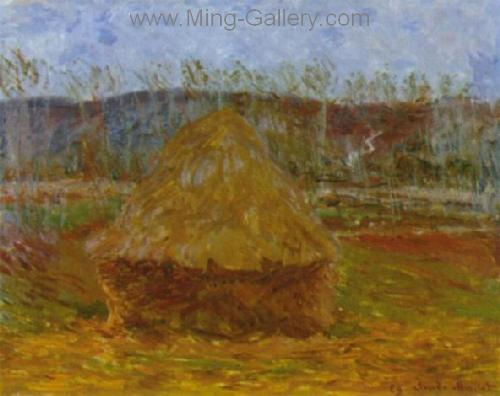 MON0043 - Monet Impressionist Art Painting