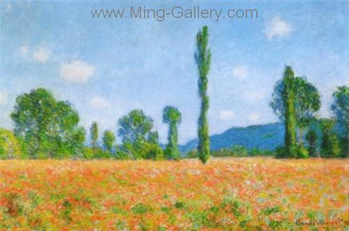 MON0048 - Monet Impressionist Art Painting