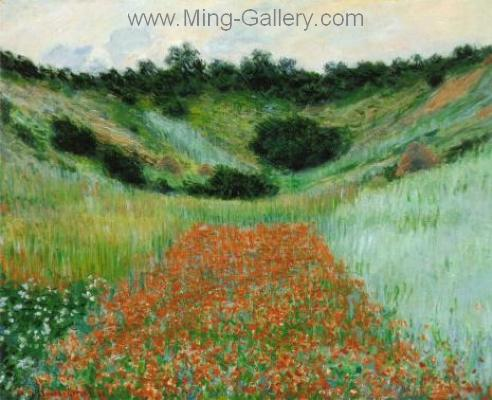 MON0060 - Monet Impressionist Art Painting