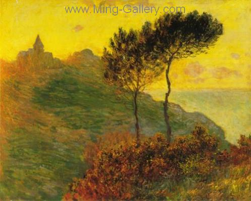 MON0070 - Monet Impressionist Art Painting