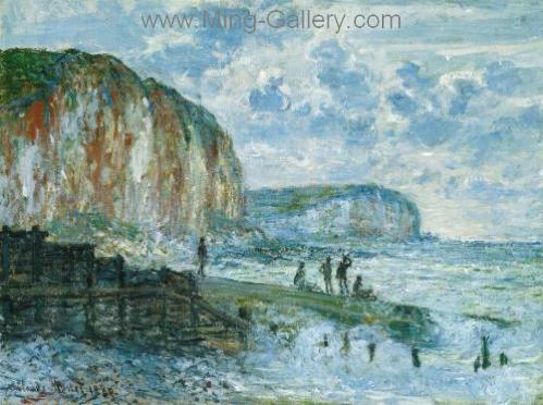 MON0074 - Monet Impressionist Art Painting