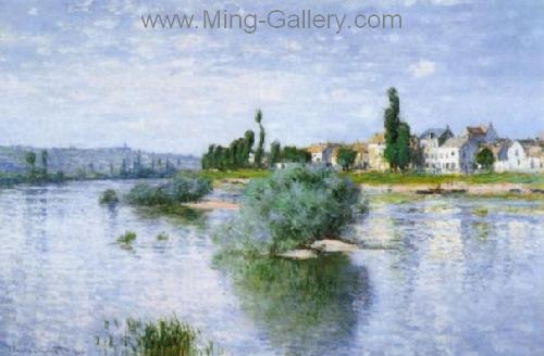 MON0075 - Monet Impressionist Art Painting
