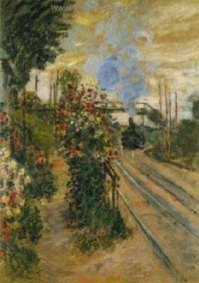 MON0087 - Monet Impressionist Art Painting