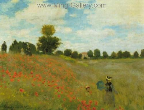 MON0093 - Monet Impressionist Art Painting