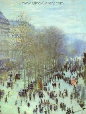 MON0097 - Monet Impressionist Art Painting