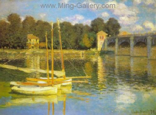 MON0099 - Monet Impressionist Art Painting