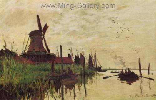 MON0106 - Monet Impressionist Art Painting