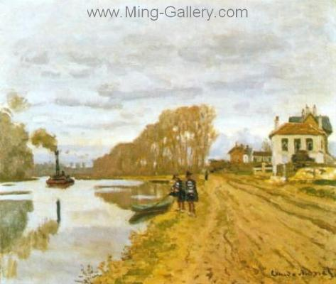 MON0113 - Monet Impressionist Art Painting