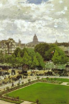 MON0118 - Monet Impressionist Art Painting