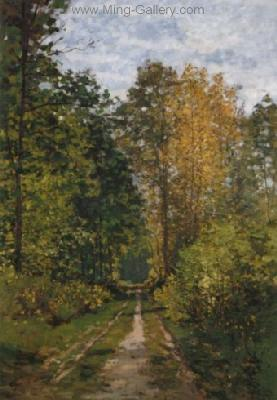 MON0124 - Monet Impressionist Art Painting