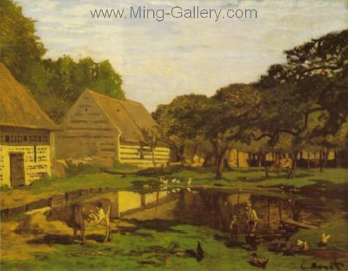 MON0126 - Monet Impressionist Art Painting