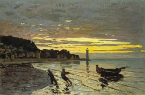 MON0127 - Monet Impressionist Art Painting