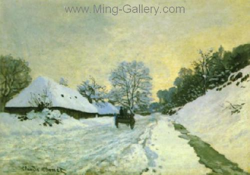 MON0129 - Monet Impressionist Art Painting