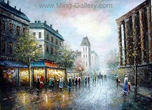 PAR0009 - Oil Painting of Paris