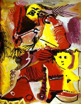 PIC0017 - Picasso Painting Art Reproduction