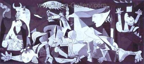 PIC0146 - Picasso Painting Art Reproduction