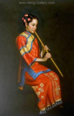 PRM0001 - Chinese Oil Painting for Sale