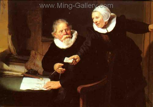 REM0003 - Rembrandt Old Master Oil Painting Art Reproduction