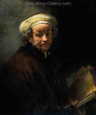 REM0022 - Rembrandt Old Master Oil Painting Art Reproduction