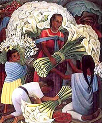 RIV0003 - Mexican Fine Art Reproduction