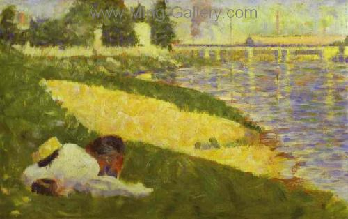 SEU0029 - Georges Seurat Impressionist Painting Reproduction