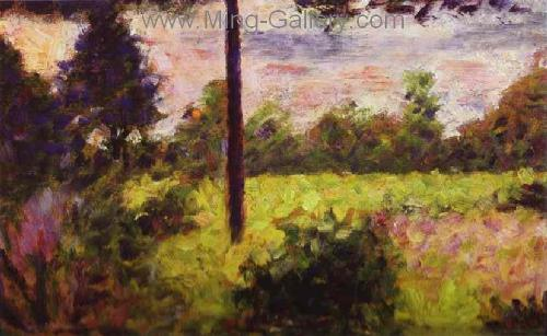 SEU0033 - Georges Seurat Impressionist Painting Reproduction