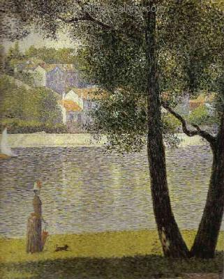 SEU0040 - Georges Seurat Impressionist Painting Reproduction