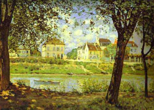 SIS0013 - Alfred Sisley Impressionist Art Reproduction Painting
