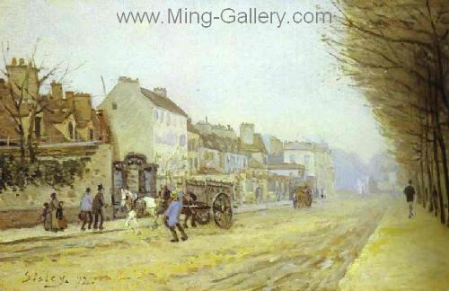 SIS0015 - Alfred Sisley Impressionist Art Reproduction Painting
