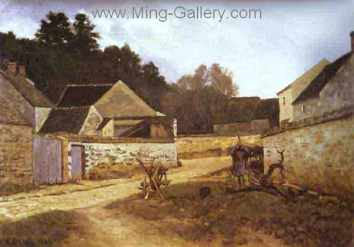 SIS0016 - Alfred Sisley Impressionist Art Reproduction Painting