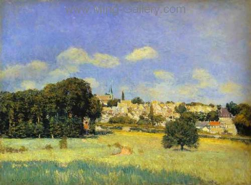 SIS0018 - Alfred Sisley Impressionist Art Reproduction Painting