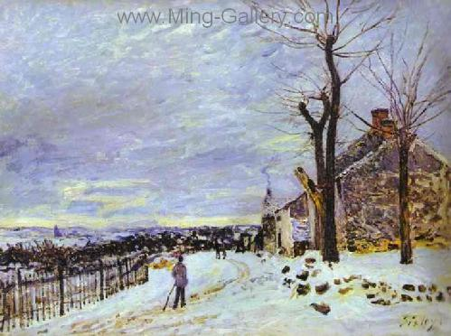 SIS0024 - Alfred Sisley Impressionist Art Reproduction Painting
