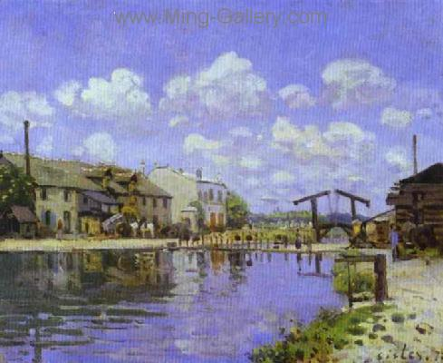 SIS0028 - Alfred Sisley Impressionist Art Reproduction Painting